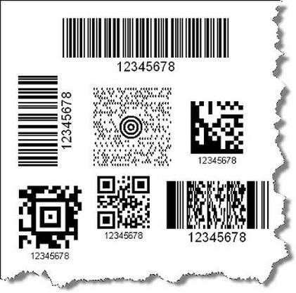códigos de barras no varejo